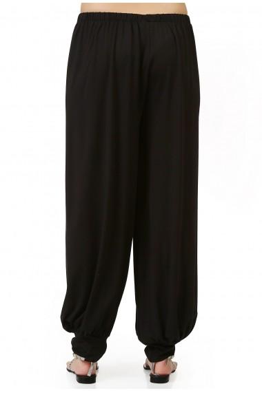 Pantaloni largi Quincey DP2005 Negru