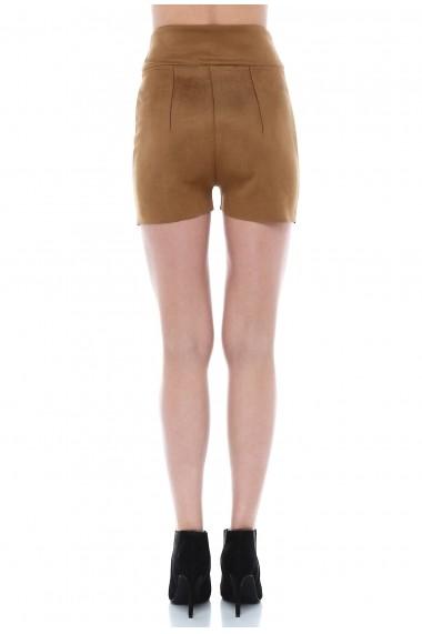 Pantaloni scurti Quincey SHE1002 Camel