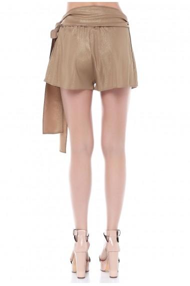 Pantaloni scurti Quincey SHE1004 Bej