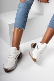 Pantofi sport casual Inan Ayakkabi INAY1071BYZDL alb
