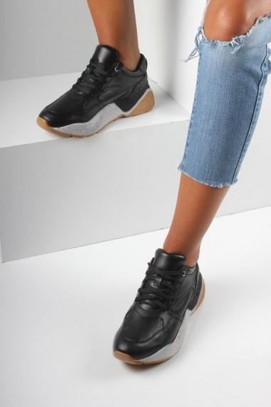 Pantofi sport casual Inan Ayakkabi INAY1071SYHDL negru
