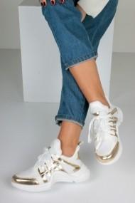 Pantofi sport casual Inan Ayakkabi INAY2015DBC Alb