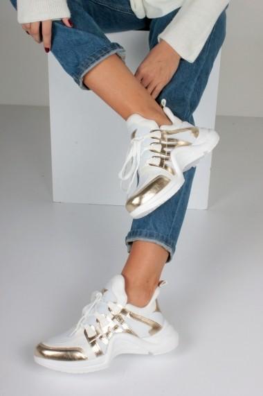 Pantofi sport casual Inan Ayakkabi INAY2015DBC Alb - els