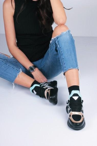 Pantofi sport casual Inan Ayakkabi INAY2021ALTN negru