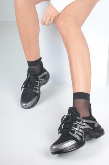 Pantofi sport casual Inan Ayakkabi INAY2021SIMP negru