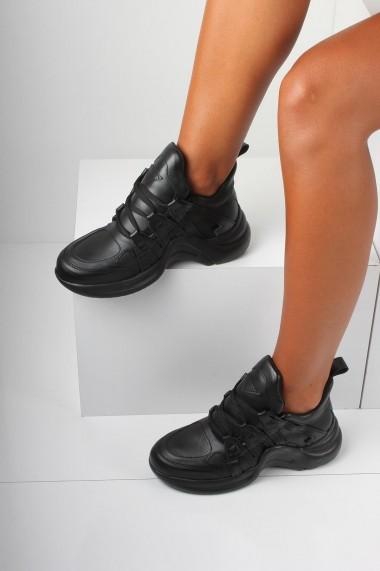 Pantofi sport casual Inan Ayakkabi INAY2021SYCL negru