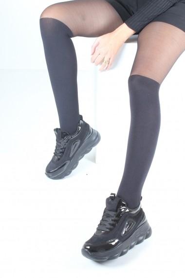 Pantofi sport casual Inan Ayakkabi INAY2055SSSR negru