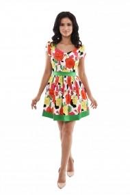 Rochie de zi Lille Couture Lora 19RZS 024 Floral