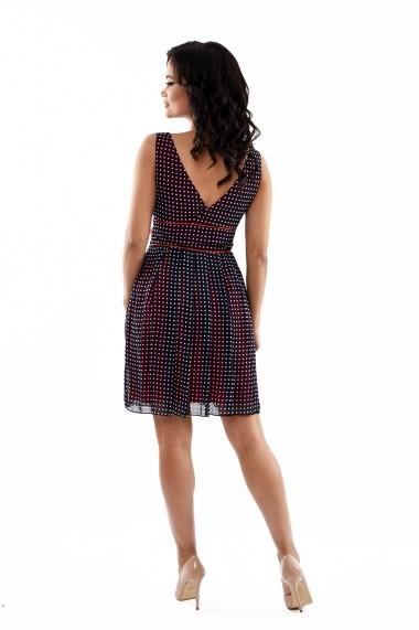Rochie de zi Lille Couture Samantha 19RZS 025 Bleumarin