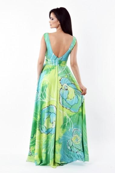 Rochie de zi Lille Couture Miki 19RZL 023-verde