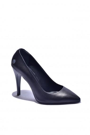 Pantofi cu toc Torino 3630 Negri