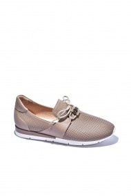 Pantofi sport casual din piele Torino 1495 Bej