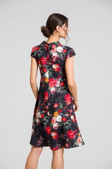 Rochie casual vara imprimeu digital floral CMD87