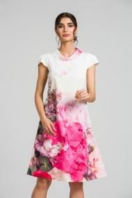 Rochie casual vara imprimeu digital floral CMD88