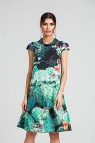 Rochie casual vara imprimeu digital floral CMD89