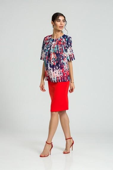 Bluza eleganta cu plii DM170