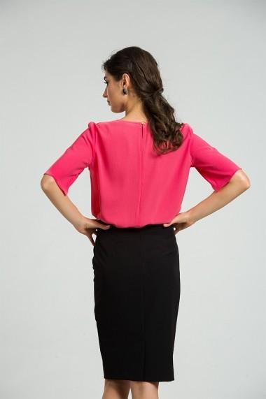 Bluza eleganta cu plii DM171