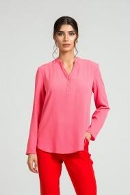 Bluza eleganta cu guler tunica si nasturi DM180