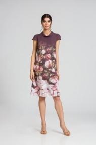 Rochie casual vara imprimeu digital floral CMD94