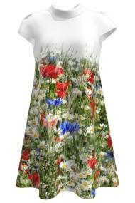 Rochie casual vara imprimeu digital floral CMD96