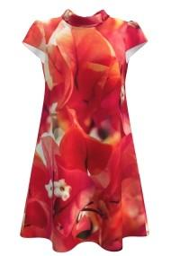 Rochie casual vara imprimeu digital floral CMD99