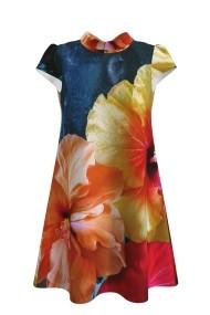 Rochie casual vara imprimeu digital floral CMD106