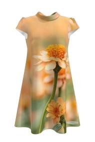 Rochie casual vara imprimeu digital floral CMD111