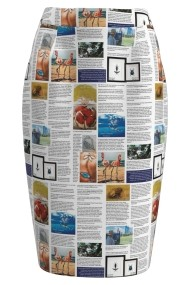 Fusta conica imprimata digital A827A50