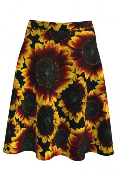 Fusta imprimata digital Floarea Soarelui A827A51