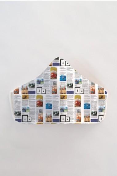 Masca fata reutilizabila imprimata din material textil MSA10