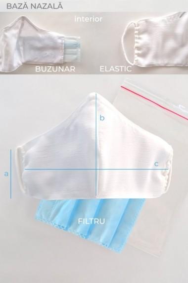 Masca fata reutilizabila imprimata din material textil MSA12