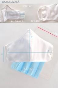 Masca fata personalizabila din material textil MSP