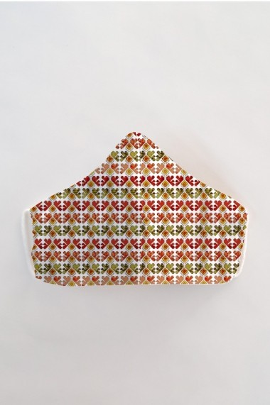 Masca fata reutilizabila imprimata din material textil MSA20