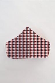 Masca fata reutilizabila imprimata din material textil MSA22