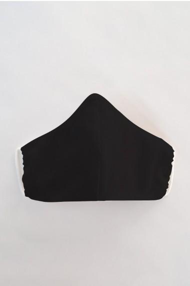 Masca fata reutilizabila neagra din material textil MSA36