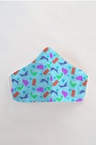 Masca fata copii reutilizabila din material textil DAMES by Eva MSC14