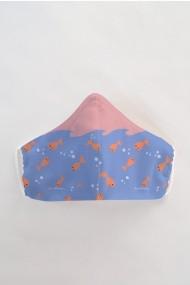 Masca fata copii reutilizabila din material textil DAMES by Eva MSC15