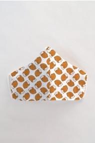 Masca fata copii reutilizabila din material textil DAMES by Eva MSC17
