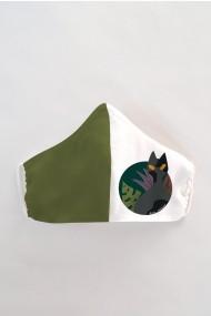 Masca fata copii reutilizabila din material textil DAMES by Eva MSC20