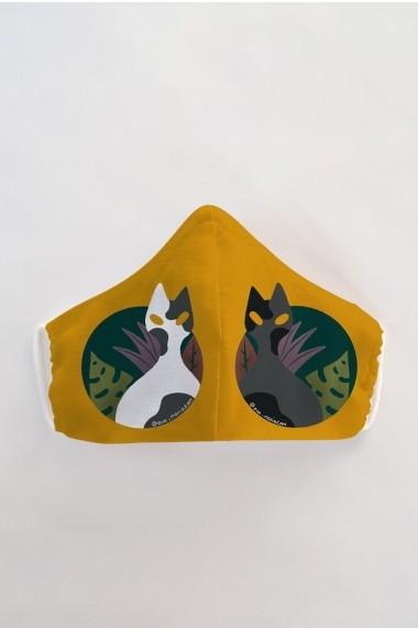Masca fata copii reutilizabila din material textil DAMES by Eva MSC22
