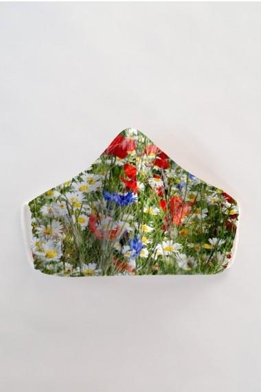 Masca fata reutilizabila imprimata din material textil MSA61