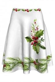 Fusta clos imprimata Christmas Plants A817C2