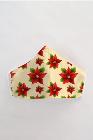 Masca faÈ›a reutilizabila imprimata din material textil MSC97