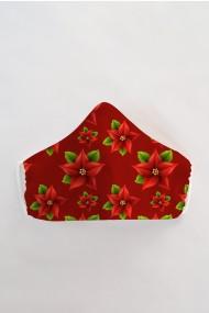 Masca faÈ›a reutilizabila imprimata din material textil MSC101