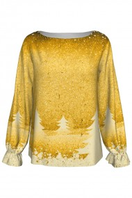 Bluza imprimata Golden A842C6