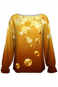 Bluza imprimata digital Golden Globes A842C7