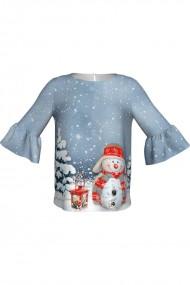 Bluza imprimata digital Snownan C268C13