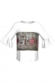 Bluza imprimata digital Reindeer C268C23