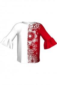 Bluza imprimata digital Snowflakes C268C27