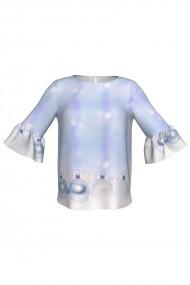 Bluza imprimata digital Snow Globes C268C29